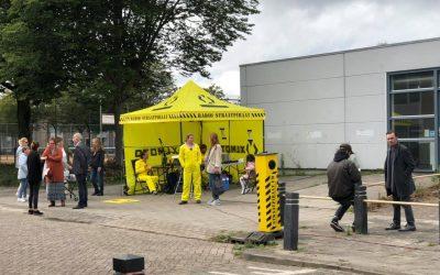 Radio Straatpiraat zendt uit vanuit Tilburg West